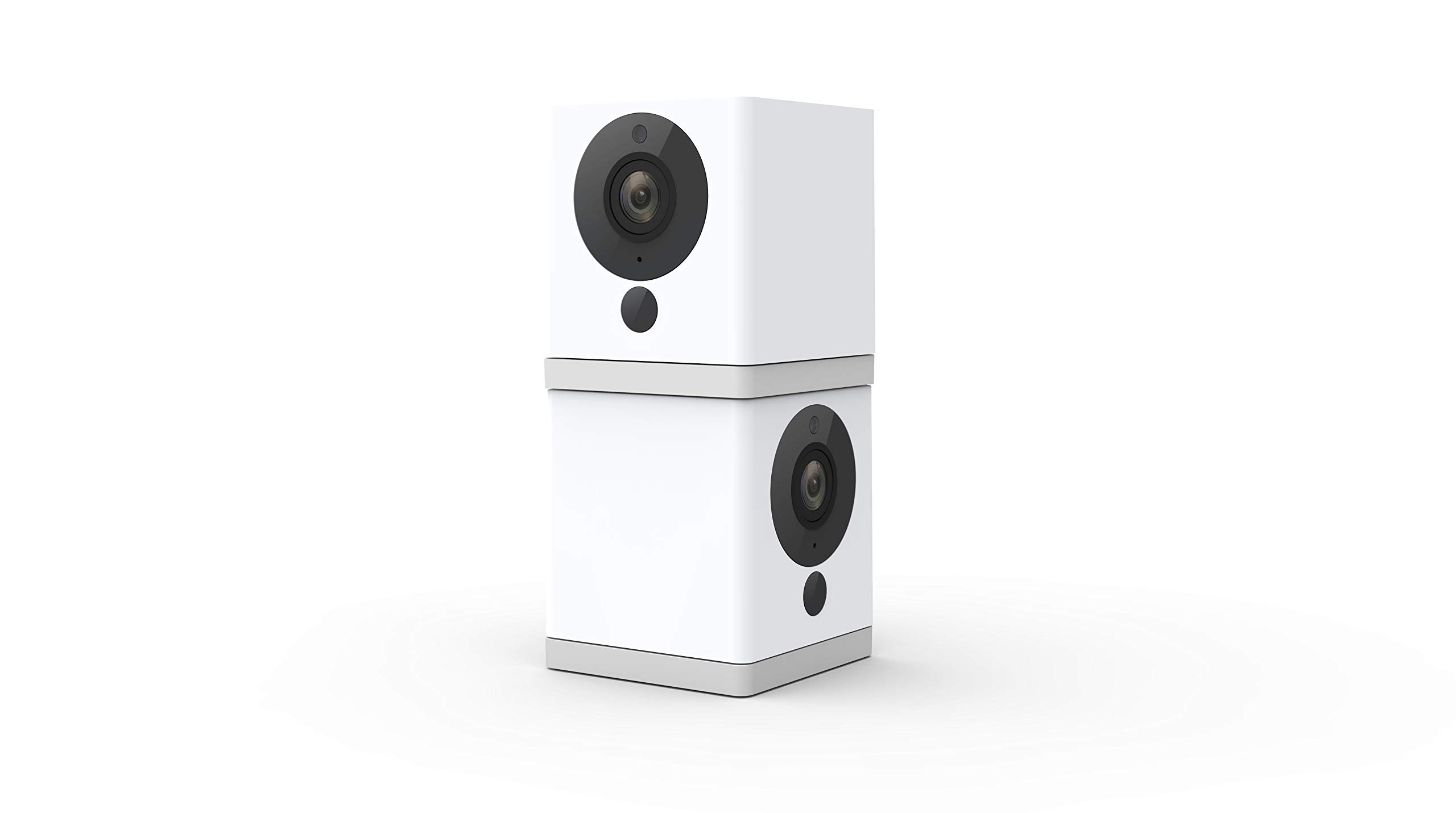 Wyze Cam 1080p Hd Indoor Wireless Smart Home Camera With Night Vision 2 Way Audio Works With Alexa The Google Assistant Pack Of 2 White Wyzec2x2 Amazon Sg Electronics