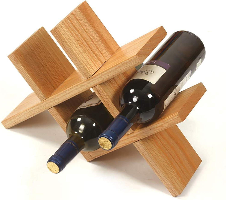 Estante de Vino Decoración de Estante de Vino Hogar Sala de Estar Creativa Estante de Vino Exhibición de Estante de Botella de Vino Bodega (Color   B)