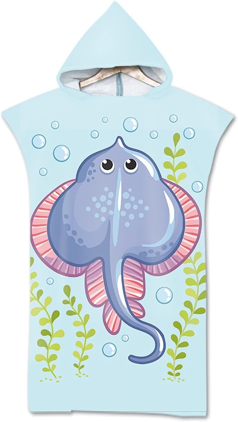 QIUMIN Rapid rise Customizable Microfiber Beach Towel Hooded Spring new work Printed Sur 3D