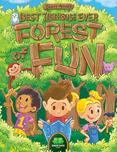 Green Couch Games Best Treehouse Ever - Forest of Fun Game