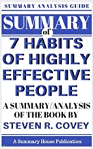 SUMMARY: The 7 Habits of Highly Effective People Study Guide