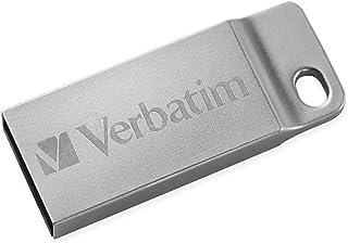 Verbatim 98750 Metal Executive Store'n' go Flash USB 2.0, 64 GB, Argento