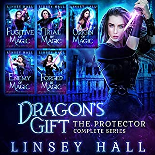 Dragon's Gift: The Protector Complete Series: Books 1 - 5                   By:                                                                                                                                 Linsey Hall                               Narrated by:                                                                                                                                 Laurel Schroeder                      Length: 31 hrs     7 ratings     Overall 3.9