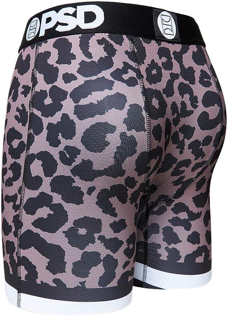 PSD Underwear Men's Cheetah Printed Boxer Brief
