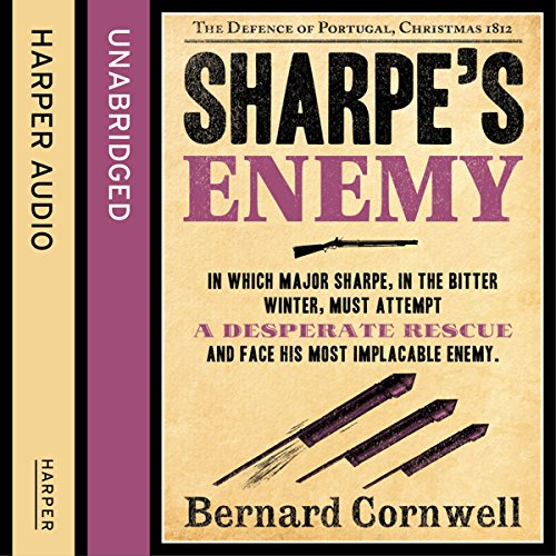 Couverture de Sharpe's Enemy: The Defence of Portugal, Christmas 1812