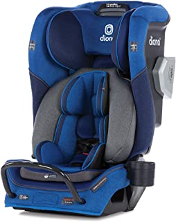 Diono 2020 Radian 3QXT, 4 in 1 Convertible, Safe+ Engineering, 4 Stage Infant Protection, 10 Years 1 Car Seat, Fits 3 Across, Blue Sky