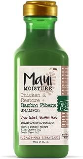 Maui Moisture Thicken & Restore + Bamboo Fiber Shampoo, 13 Ounce