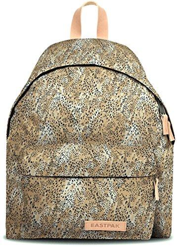 Eastpack Padded Pak'r Sac à Dos Loisir, 40 cm, Multicolore (Leopard)
