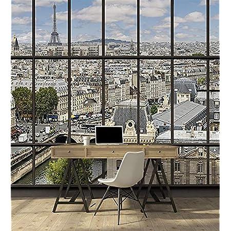 D/éco et photo murale XXL Qualit/é HD Scenolia Papier Peint d/éco poster COUCHER DE SOLEIL 3 x 2,70 m
