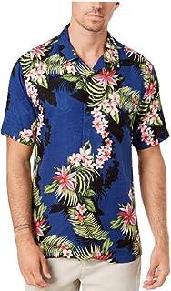 Tommy Bahama Shadow O'Lei Silk Camp Shirt
