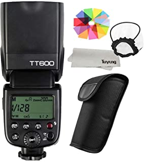 【GODOX 正規代理店/日本語説明書付】GODOX Thinklite TT600 フラッシュ スピードライト マスター/スレーブフラッシュ with 内蔵 2.4G ワイヤレストリガ・システムGN60 Canon・Nikon・Pentax・Olympus DSLR カメラ対応