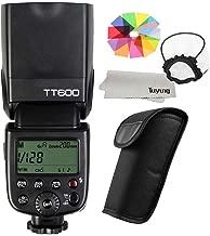Godox TT600 - Flash Speedlite para cámara Canon Nikon Pentax Olympus y Otras cámaras réflex Digitales (2,4 G)