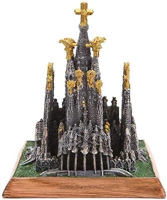 JYY Familia Santa Catedral Artesanía España Miniatura Modelos ...