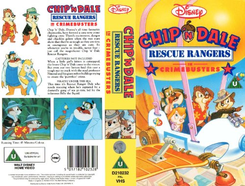 Chip 'n' Dale - Rescue Rangers - Crimebusters [VHS] [UK Import]