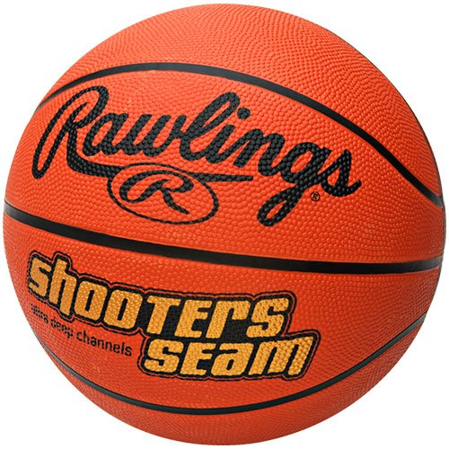 %57 OFF! Rawlings Shooters Seam Rubber Official Size Basketball