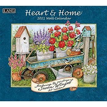 Lang Heart & Home 2021 Wall Calendar  21991001913