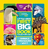 National Geographic Little Kids First Big Book Collector's Set: Animals, Dinosaurs, Why?