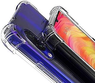 E-COSMOS Bumper Case for Xiaomi Redmi Note 7 Pro (Silicone_Transparent)
