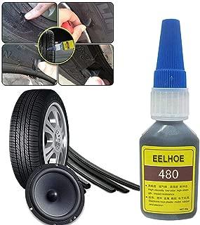 Reifenpannenreparatur-Set Autoreifenreparaturset mit Nadelwerkzeug und 5 Reifenreparaturstreifen f/ür Car Van-Reifenreparatur brauner Streifen OurLeeme Reifenreparaturset