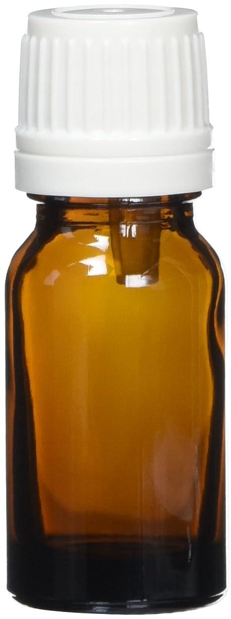 円形の影のある母性ease 遮光ビン 茶色 10ml×10本