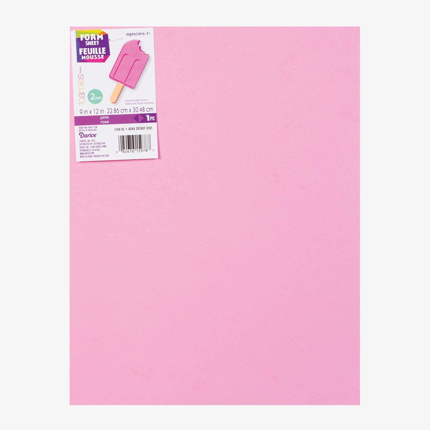Darice Foamies Foam Sheet Pink 2mm 10-Pack unisex x inches Thick 9 famous 12