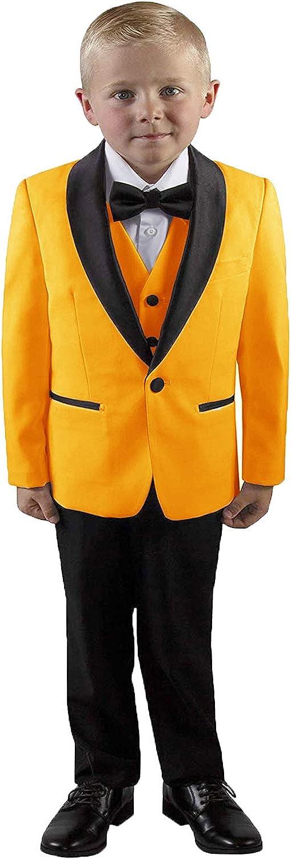 DGMJ Wedding Suits for Ranking TOP9 Boys 3 Lapel Shawl Formal Pieces Max 68% OFF Sl