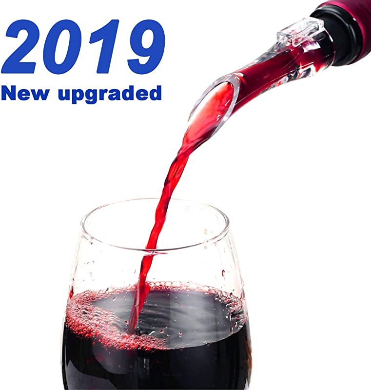 360Home Wine Aerator Pourer All In One Diffuser Decanter And Oxygenator Premium Aerating Decanter Spout