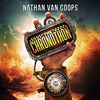 The Chronothon audiobook cover art