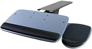 Mount-It! Under Desk Keyboard Tray, Adjustable Keyboard and