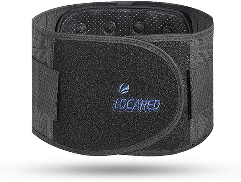 Lumbar BraceBreathable Back Support Belt for Men & Women Reduces Back Pain,Carbon Fiber Heating (Size   L)