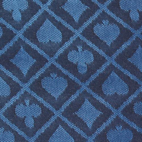 10 bschnitt of Blau Two-Tone Poker Tisch Speed Cloth Polyester by Brybelly by Brybelly
