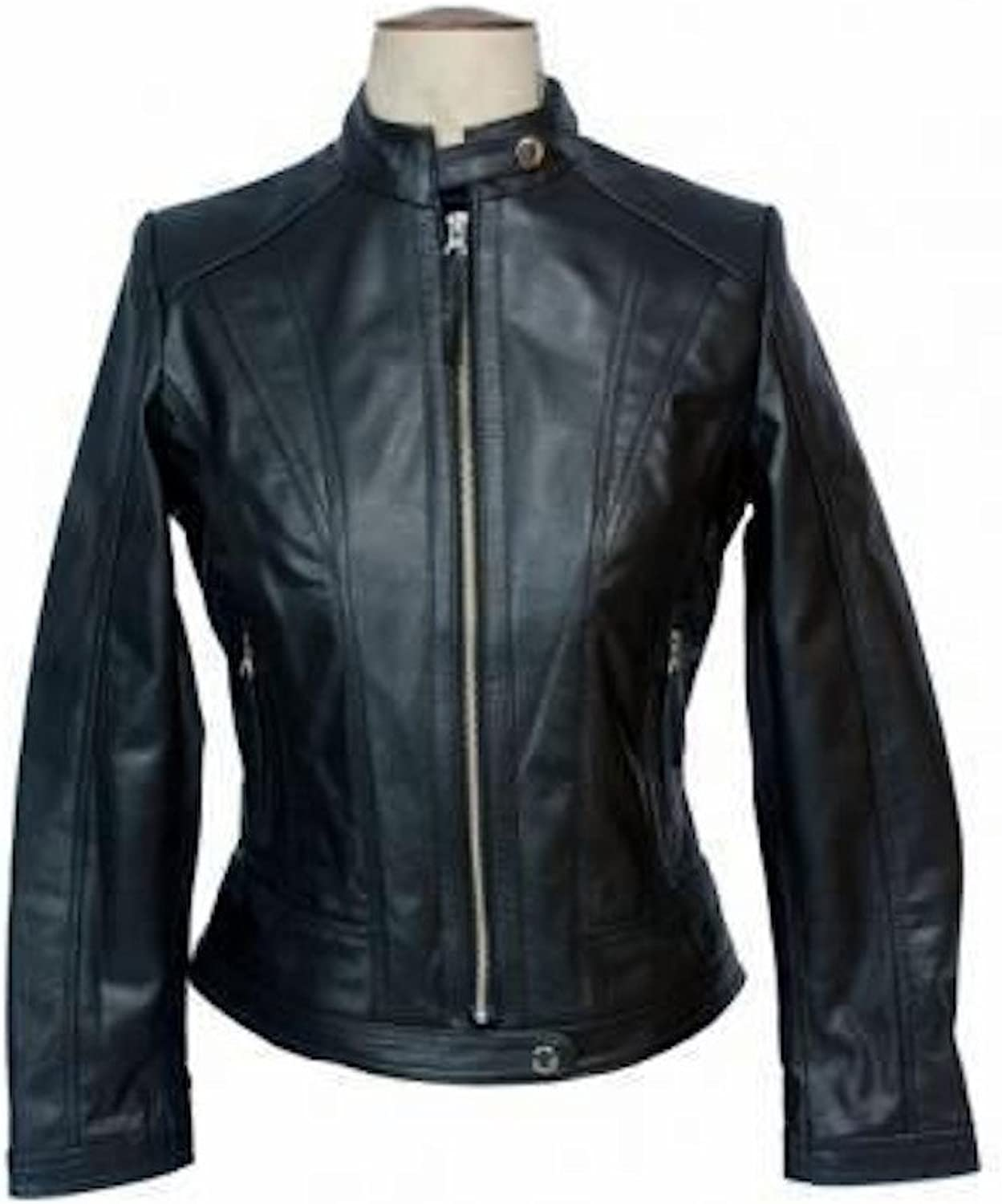 Fadcloset Deception Womens Leather Jacket