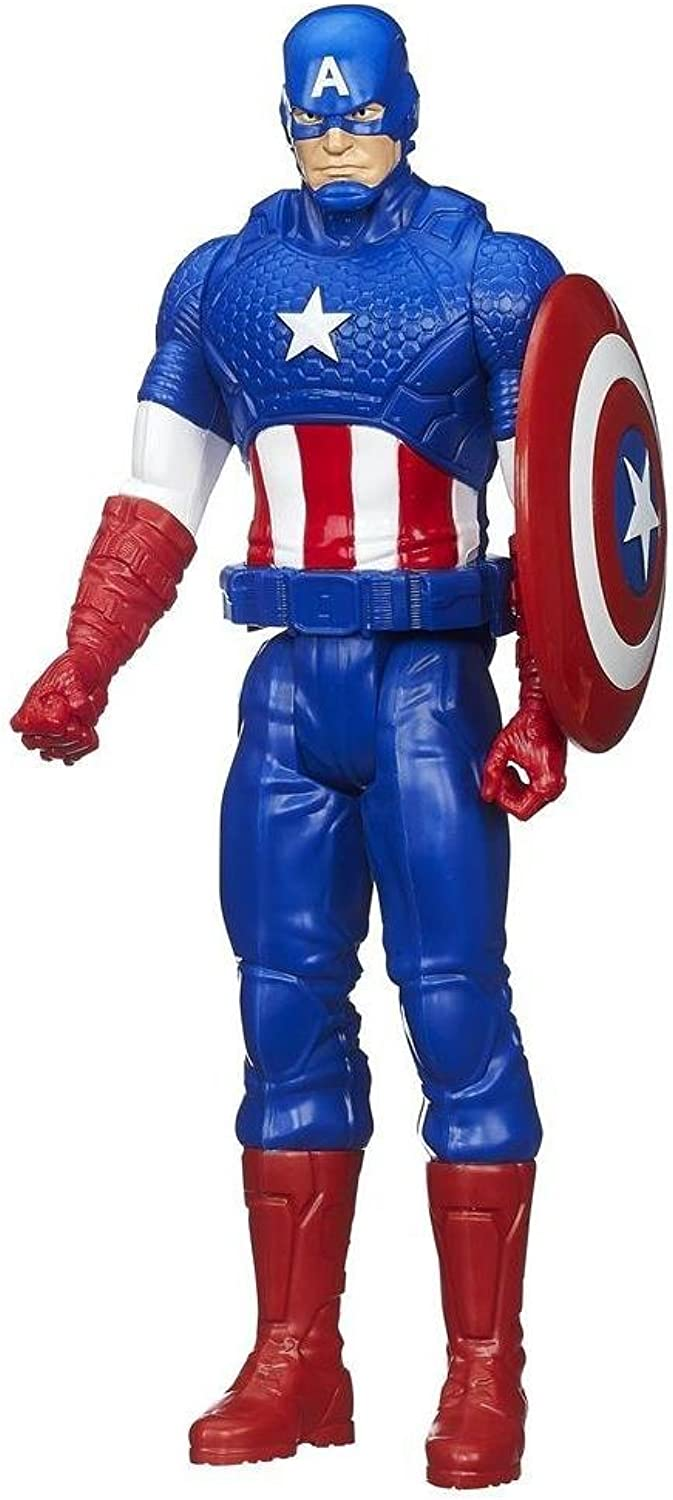 Hasbro Marvel Avengers Titan Hero Series Captain America Action Figure 12 Inch