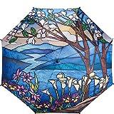 61psF0rHsML. SL160  - Parapluie Felissimo Stained Glass au Style Vitrail Lumineux et Coloré - motifs, Femme, Fashion, Design, Accessoires