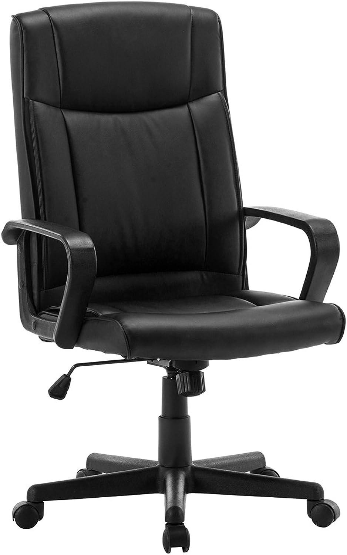 High Back Faux Leatherette Desk Chair Executive Desk Computer Chair