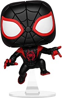 Funko Pop Marvel: Animated Spider-Man Movie – Miles Morales Spider-Man Coleccionable, Multicolor
