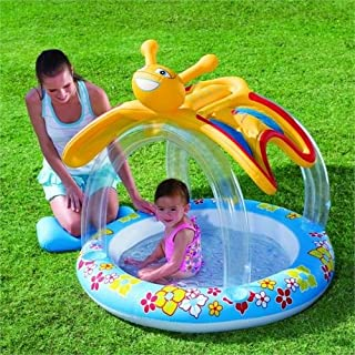 حوض سباحة بتصميم فراشة، مقاس 107× 112× 107 سم، 26-52137