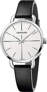 Calvin Klein Unisex Adult Analogue-Digital Quartz Watch with Leather Strap K7B231CY