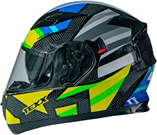 Capacete Texx G2 Trento Amarelo/Verde 58