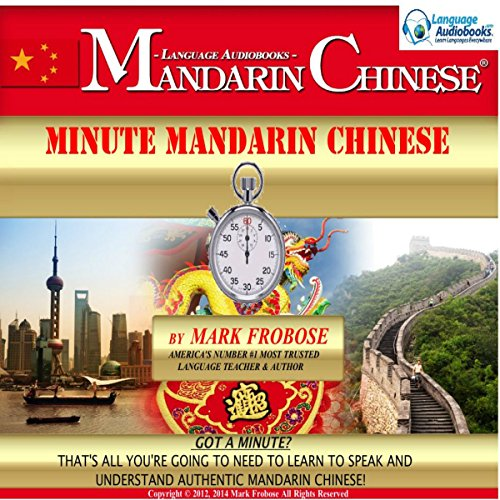 Minute Mandarin Chinese cover art