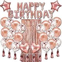 Globos Cumpleaños Decoración, Sebami Kits de decoraciones de fiesta de cumpleaños de globos para Cumpleaños Fiesta...