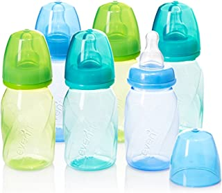 Comotomo Baby Bottle, Green, 8 Ounce (2 Count) Comotomo Natural Feel Baby Bottle, Green, 5 Ounce Philips Avent Natural Baby Bottle, Clear, 9oz, 4pk, SCF013/47 Lansinoh Breastfeeding Bottles for Baby, 8 Ounces, 3 Count Evenflo Feeding Premium Proflo Vented Plus Polypropylene Baby, Newborn and Infant Bottles - Helps Reduce Colic - Teal/Green/Blue, 4 Ounce (Pack of 6)