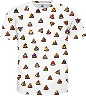44d259cef655 Neemanndy Unisex 3D Colorful Print Graphic Tee Shirts for Men Women and  Teens