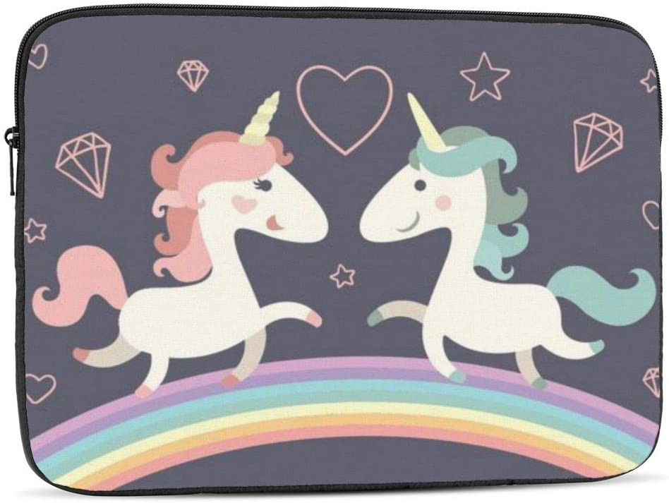 Computer Protective Bag Unicorn Print Laptop Sleeve 13 inch Tablet Carrying Case for MacBook Pro//MacBook Air//Asus//Dell//Lenovo//Hp//Samsung//Sony Shock Resistant Notebook Briefcase