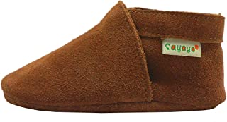 Sayoyo Baby Infant Toddler Soft Sole Prewalker Cattle Cashmere Shoes
