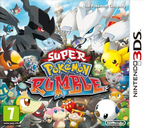 Nintendo Super Pokémon Rumble - video games (Nintendo 3DS, Action, Pokémon Company) by Nintendo