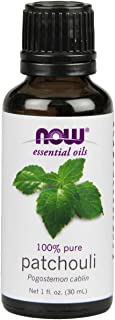 Now Essential Oils, Patchouli Oil, Earthy Aromatherapy Scent, Steam Distilled, 100% Pure, Vegan, 1-Ounce