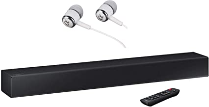 Samsung 2-Channel TV Mate Soundbar, Bluetooth Wireless, Built-in USB Port, Surround Sound Expansion, Booming Bass with a Built-in Woofer, Samsung Audio Remote app