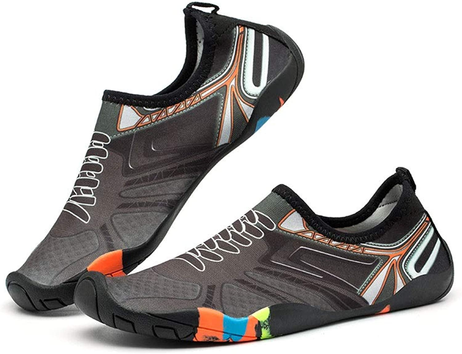 Ailj Water shoes, Outdoor Men and Women Water Ski shoes Non-Slip Quick Drying Wading shoes 2 colors