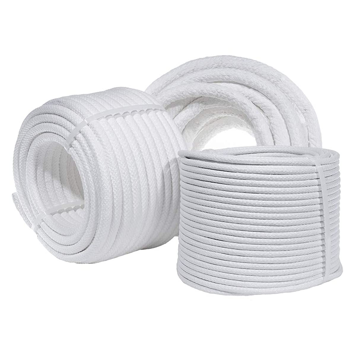 """Coiling Cord with Multiple Size and Length Variations - 3/4"""", 1/2"""" and 1/4"""" in Either 30, 50, 100, or 180ft in Length Options - Perfect for Basket Weaving"""